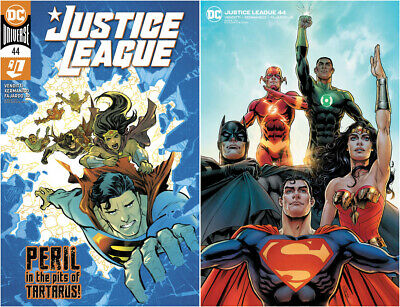JUSTICE LEAGUE #46 Presale 06//10 DC Comics NM