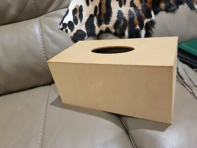 MDF Craft Tissue box Cover for painting and Craft
