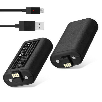 LED Dual Charging Dock Station Charger / Rechargeable Battery for XBOX One S / X