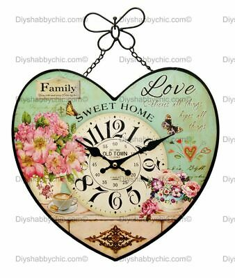 Furniture Decor Decal Image Transfer Family Love Upcycle Shabby Chic Antique DIY