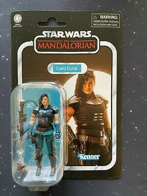 2020 Star Wars Vintage Collection VC164 Mandalorian Cara Dune Non-Mint