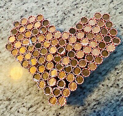 🔥1 Sealed Box Of 50 Rolls Of Unsearched Pennies + 💰 Bonus Grab Bag🔥