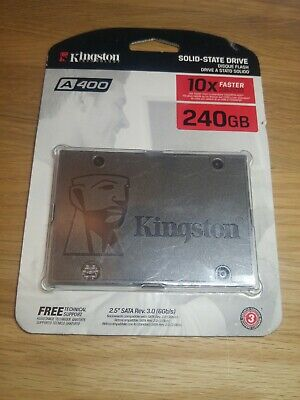 "Kingston A400/240GB Solid State Drive SSD 2.5"" Rev.3.0(6Gb/s)"