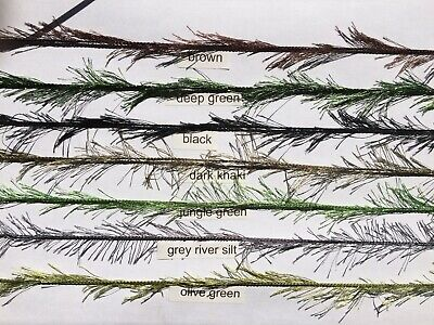 kd rig camouflage weed effect hair rig carp,course,hair rigs