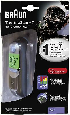 Braun Thermoscan 7 Digital Ear Thermometer BRAND NEW SEALED IN RETAIL PACKAGE