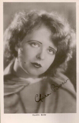 Clara Bow - Printed Photograph Signed In Ink