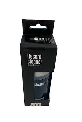 AM Record Cleaner for Vinyl LP Records Cleaning Solution Bottle 200ml
