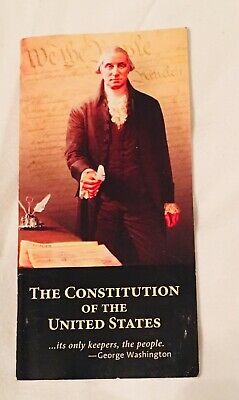 The Constitution of the United States-Pocket Size! Copyright 2009