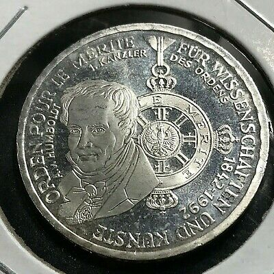 1992 Germany Silver Proof 10 Marks