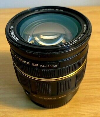 Tamron SP 24-135mm f/3.5-5.6 Macro AF Aspherical AD IF - For Canon - 190D #K3366