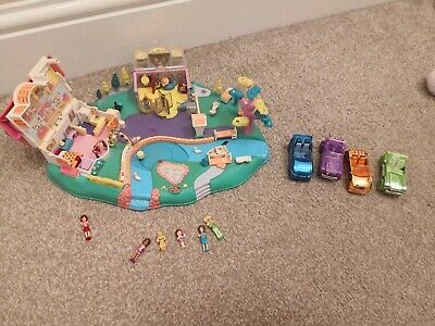 Polly Pocket mini princess palace 100 /% komplett complete Pferd kutsche Horse