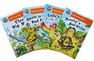 Start Reading Collection - Down in the Jungle (5-6 years) [4 book set]