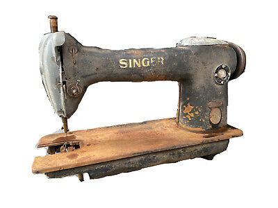 Vintage Industrial Singer #241-11 Sewing Macine FOR PARTS, Not Tested AG595523