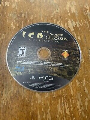 Ico & Shadow of the Colossus Collection DISC ONLY (Sony PlayStation) PS3 game