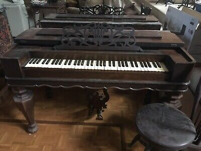 Antique Melodion. Rosewood. Melodian. Melodeon. Potential Rosewood Desk.