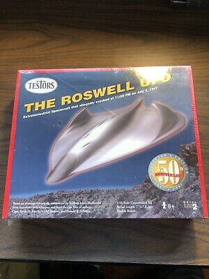 The Roswell UFO Model Kit,50th Anniversary Collectors Edition