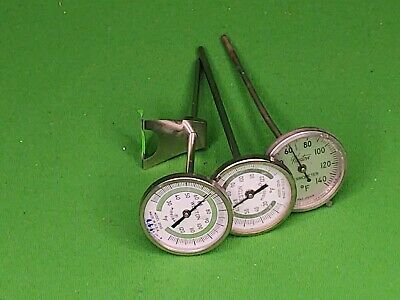3 Photographic Dial Thermometers (D11)