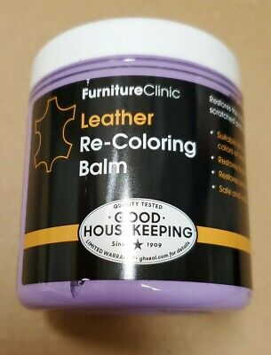 Furniture Clinic Leather Recoloring Balm - Leather Color Restorer for Furnitu...