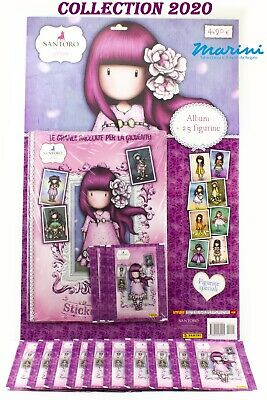 Panini Raccolta Santoro London Gorjuss Album +15 Bustine Figurine Stickers 2020