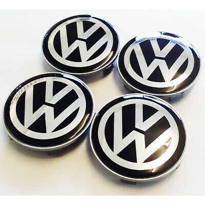 4 x Transporter T5 T6 Centre Caps to fit BMW 65mm Center Hole 68mm Outer Bore