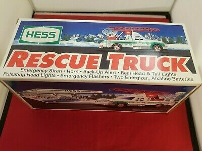1994 Hess Rescue Truck. New in Box