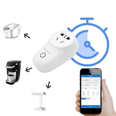 Sonoff S26 10A 2.4GHz WiFi Control Smart Timer Home Power Socket, AC 90-250V, UK