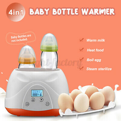 4 in 1 Baby Bottle Warmer Heating Up Milk Automatic Equipment Multifunction