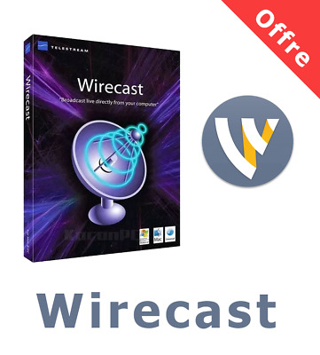 🔥 New Telestream Wirecast Pro 13 for Windows Lifetime Activated✅ Fast Delivery⚡