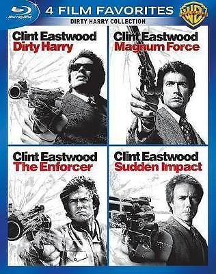 Dirty Harry Collection: 4 Film Favorites (Blu-ray Disc, 2014, 4-Disc Set)