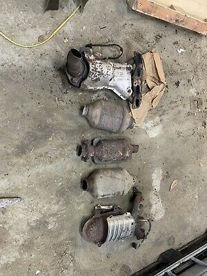 5 Scrap Large Foreign Domestic Catalytic Converter Hyundai Chevy Ford