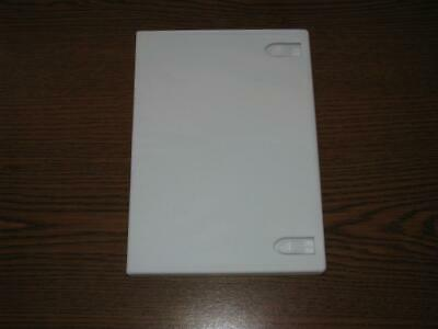 One White DVD Movie/Wii Game Case - 14mm - Free Shipping - Bulk Discounts