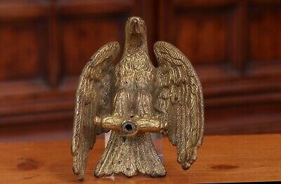 Antique Solid Brass/Bronze Eagle Finial