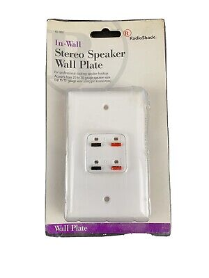 RadioShack HDMI Decorator Wall Plate Cover 1 Port Extender Jack 1080P HD 10 pc