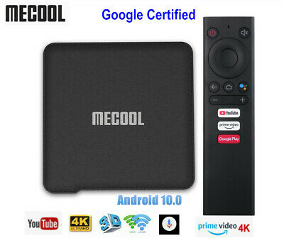 KM1 ATV Google Certified Android 9.0 TV Box Amlogic S905X 4K H.265 Set top box