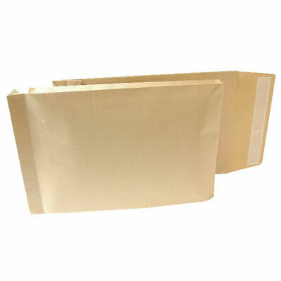 New Guardian Armour Gusset Envelope 470x300x70mm Manilla 130gsm Peel and Seal