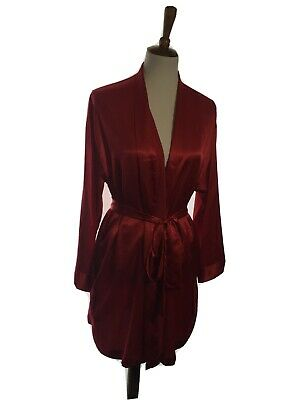 VICTORIAS SECRET Womens Robe Red One Size Fits All