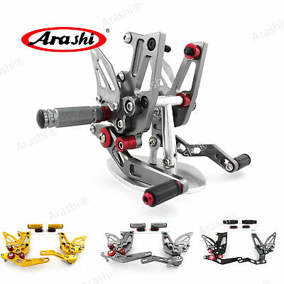 Fit Triumph Speed Triple 1050 2011 - 2015 2014 2013 Adjustable Rearsets Footpegs