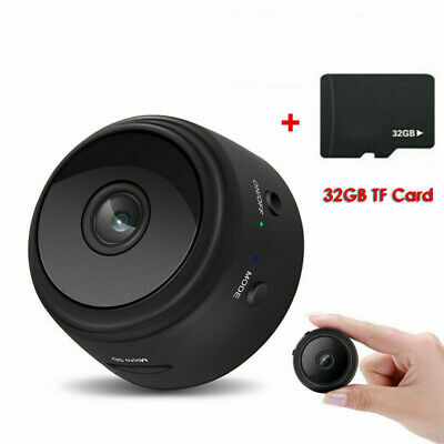 For A9 HD Mini Magnetic Camera 1080P IP Spy WiFi Wireless Hidden Night Vision
