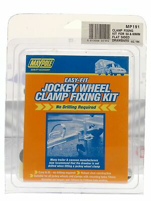 Maypole Jockey Wheel Clamp Fixing Kit