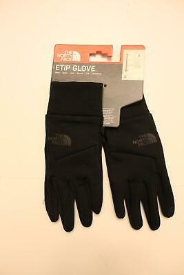 The North Face Unisex Adult Etip Touchscreen Gloves MW7 Black Small NWT