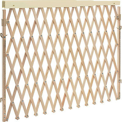 Evenflo Expansion Walk Thru Room Divider Baby and Pet Gate, Tan (Open Box)