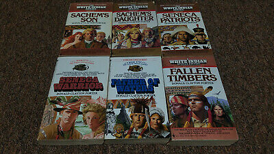 DONALD CLAYTON PORTER 6 western books SERIES: THE WHITE INDIAN