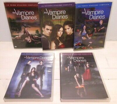 The Vampire Diaries - L'amore morde  - Stagioni 1-5  25 DVD