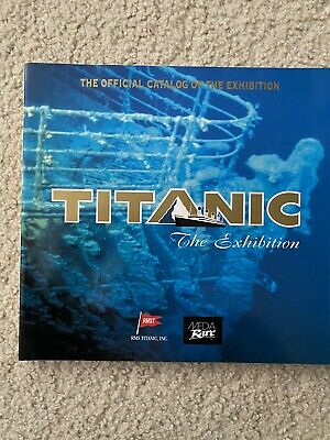 Titanic The Exhibition Photo Book Official Catalog