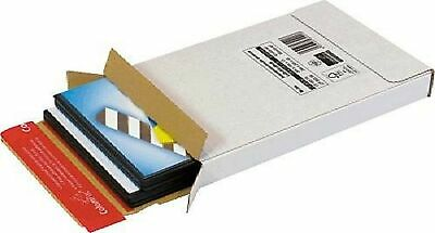 Colompac CP06552 Extremely Strong Corrugated Cardboard Document Envelope – Wh...