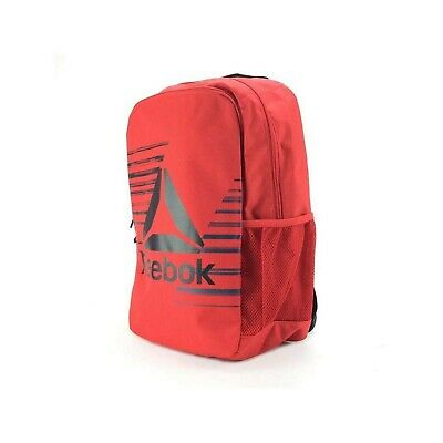 Reebok Kids Foundation Backpack Backpack, Unisex Children One Size Red (PriRed)