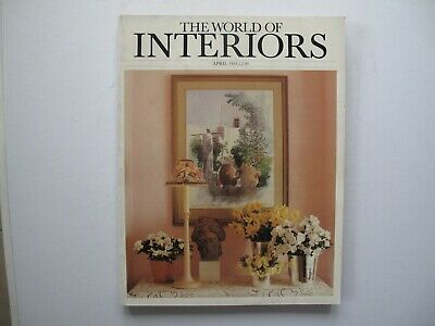 The World of Interiors, April 1984