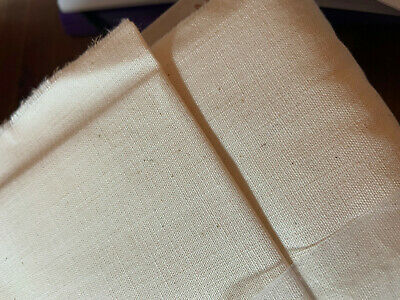 Natural Weavers Cloth for Punch Needle and Embroidery sold by half yard