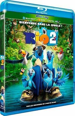 Rio 2  [Combo Blu-ray + DVD + Digital HD]  NEUF cellophané