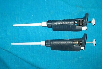 Two Gilson Pipetman Pipettes P200 and P10